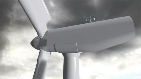 Wind Turbine Timelapse 08 Stock Video Footage