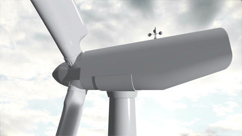 Wind Turbine Timelapse 08 Animation