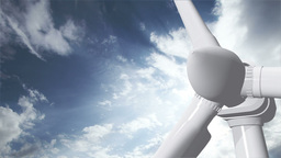 Wind Turbine Timelapse 10 Stock Video Footage