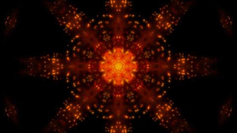 fire flower pattern,gem,wedding... Stock Video Footage