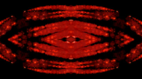 thick red smoke shaped peculiar lava shape.melting,Pupil,watching,energy,galaxies,universe,space,blo Animation