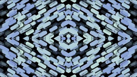 paper shaped diamond fancy pattern,kaleidoscope,paper... Stock Video Footage