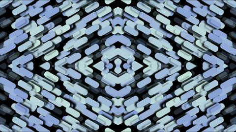 paper shaped diamond fancy pattern,kaleidoscope,paper... Stock Video Footage
