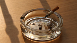 Cigarette and Ashtray 03 smoking Stock Video Footage
