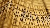 Exclusive New York Map From 1903 12 Focusing On Broadway stock footage
