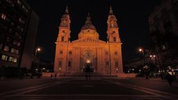St Stephen Basilica Budapest 03 Stock Video Footage