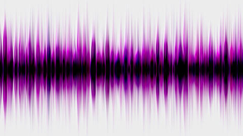 purple pulse ray,band,frequency spectrum,FM,heart... Stock Video Footage