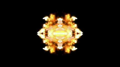 flare fire fancy background,religion flower... Stock Video Footage