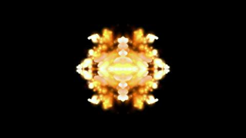flare fire fancy background,religion flower... Stock Video Footage