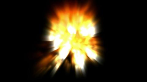 Volcanic eruption,dazzling... Stock Video Footage