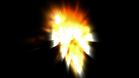 Volcanic eruption,dazzling light,Lava,melting,magma,Smelting,steel,smoke,Missiles,weapons,explosives Animation