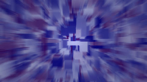 blue blur light rays,computer web background,tech... Stock Video Footage
