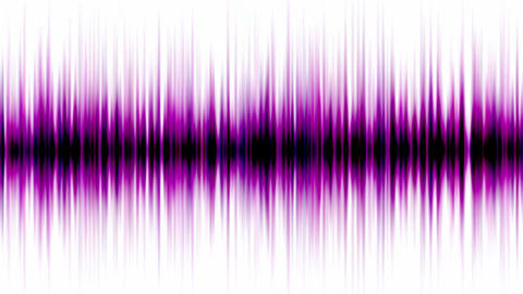 purple pulse ray,band,frequency spectrum,FM,heart rate,EEG,ECG,life,weeds,noise,particle,symbol,drea Animation