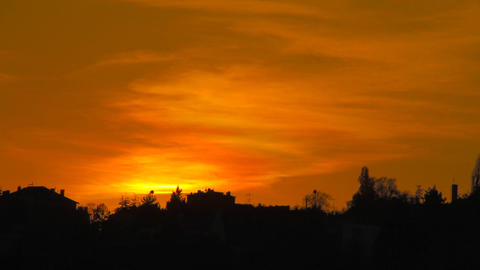 Sunset 02 Stock Video Footage