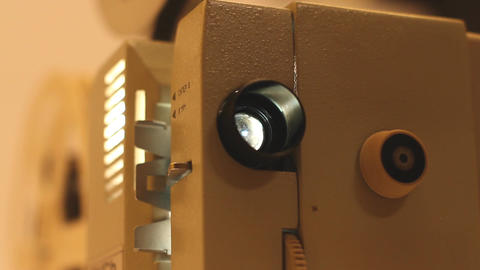 8mm Projector 04 sound Footage