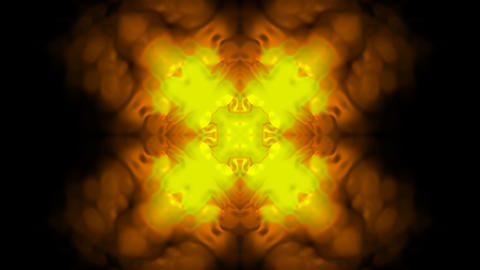 Gold flower pattern,gorgeous east religion fancy texture,wedding background.Fractal,romantic,materia Animation