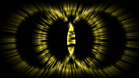 circle ray light,yellow tunnel... Stock Video Footage