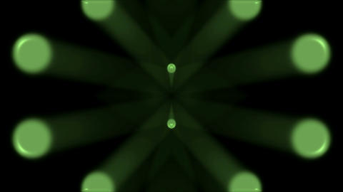 green light shaped... Stock Video Footage