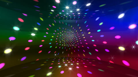 Disco Light CBr c4 HD Animation
