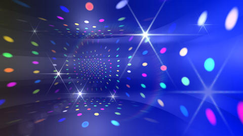 Disco Light CDr c4 HD Stock Video Footage