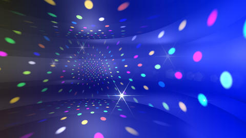 Disco Light CDr c4 HD Animation