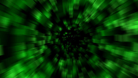 green blur light,time tunnel in space.Fireworks,Mirage,Powder,dust,stirring,pollution,Entrance,dumpi Animation