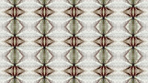 east flower fancy ceramic tile pattern,mosaics puzzle... Stock Video Footage