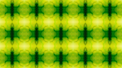green flower seamless pattern,consecutive fancy... Stock Video Footage