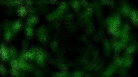 green blur light,time tunnel in... Stock Video Footage