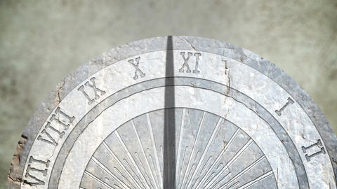 Sundial Timelapse Animation HD Animation