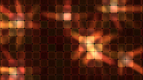Lights Shining Through Glass Tiles - Loop Red Animation