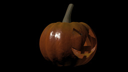 Pumpkin Halloween Version 10 Animation