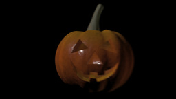 Pumpkin Halloween Version 20 stock footage