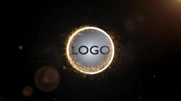 Circle Logo stock footage