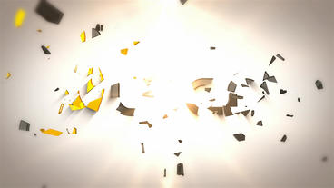 Clean Logo Shatter After Effects Template