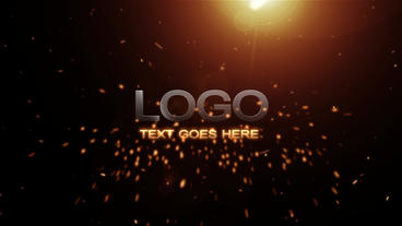 Explosion Logo Intro After Effects Project