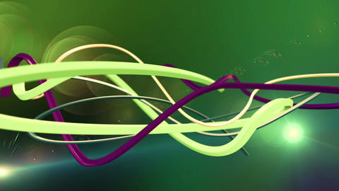 Colorful Abstract Lines Computer Animation. Loop animation Animation