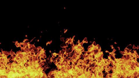 Fire Burning HD incl. Alpha Matte Animation