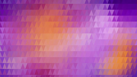 triangles mosaic abstract loopable background Animation