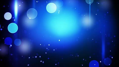 flashing blue circles lights and stripes loop Animation
