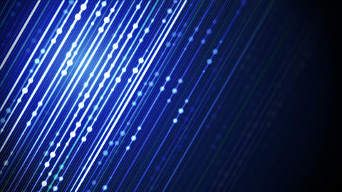 blue glowing diagonal lines loopable background Animation
