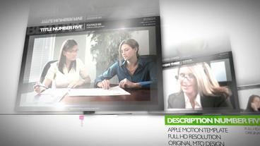 dropzone 252 Apple Motionテンプレート