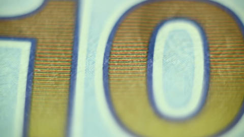 macro shot united states dollars part 2 of 4 Footage