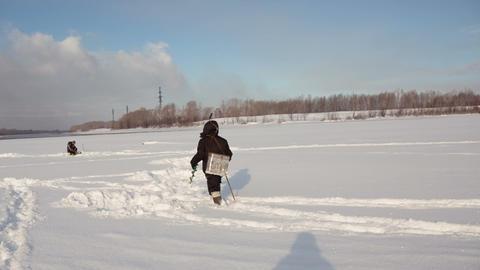 Winter fishing 8 Footage