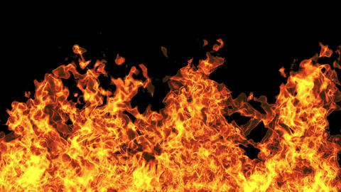 Fire Slowmotion HD Animation