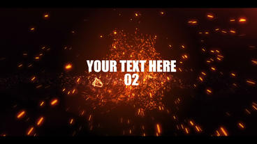 Explosion Trailer After Effects Template