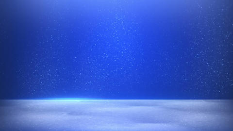 glitter dust on blue background seamless loop Animation