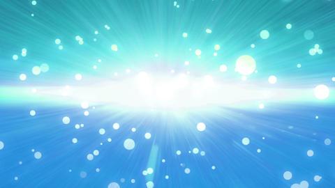 bokeh glow background forward sky blue Animation