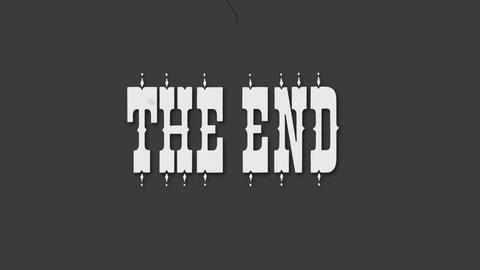 The end Animation