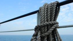 Ship Rope stock footage